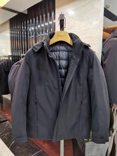 A19806 秋冬 2019  可拆卸帽子 羽绒服