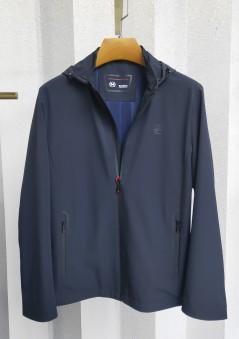 J2022 博尔顿男士时尚休闲可拆卸帽子新款中年春装夹克