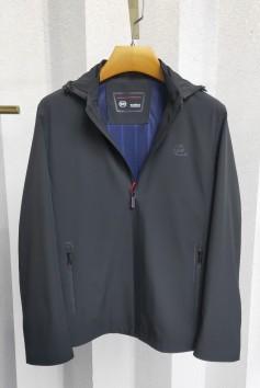 J2022 伟德国际1946男士时尚休闲可拆卸帽子betvictor12伟德官网中年春装夹克