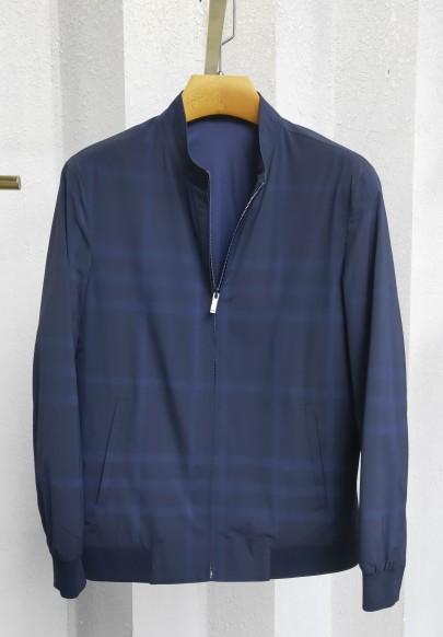 J8899春装 2020 立领格子 夹克
