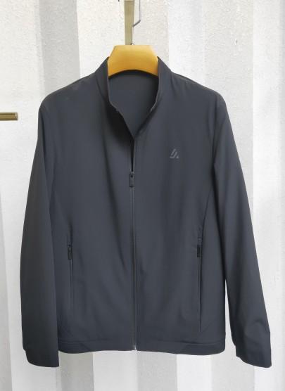 J9999  伟德国际1946时尚休闲男士betvictor12伟德官网中年立领春装夹克