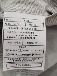 XF6629903 春装 2020 翻领 西服