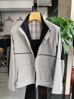 J6629901 博尔顿新款男士时尚休闲中长款春装夹克