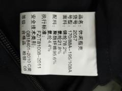 J2057 博尔顿针织时尚休闲男士新款中年立领春装夹克