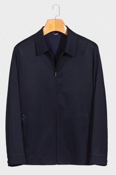J1889  博尔顿春季休闲男士新款中年翻领夹克
