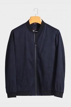 J2028  博尔顿棒球领男士新款中年休闲立领春装夹克