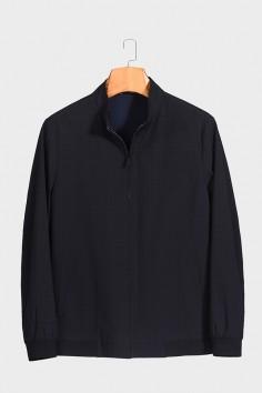 J2072  博尔顿时尚休闲男士新款中年立领春装夹克