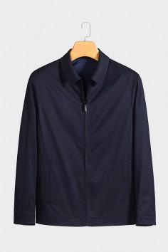 J2068  博尔顿春季休闲男士新款中年翻领夹克
