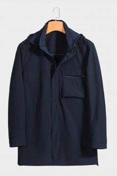 F6629921 伟德国际1946男士时尚休闲可拆卸帽子betvictor12伟德官网中年春装夹克