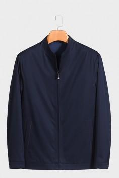 J2058  博尔顿男士新款中年立领 春装 夹克
