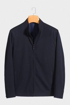 J2029  博尔顿男士新款中年立领 春装 夹克
