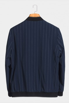 J8298  伟德国际1946棒球领男士betvictor12伟德官网中年休闲立领春装夹克