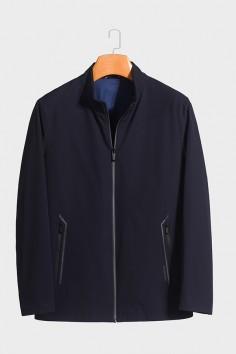 J5968  博尔顿时尚休闲男士新款中年立领春装夹克