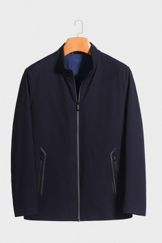 J5968  伟德国际1946时尚休闲男士betvictor12伟德官网中年立领春装夹克