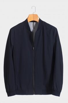 J51886 博尔顿棒球领男士新款中年休闲立领春装夹克