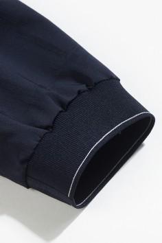J8221 博尔顿棒球领男士新款中年休闲立领春装夹克
