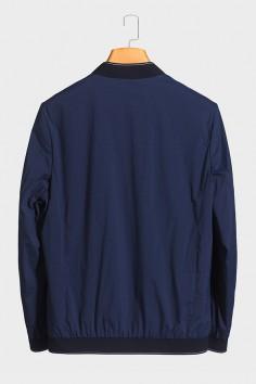 J8216 伟德国际1946棒球领男士betvictor12伟德官网中年休闲立领春装夹克