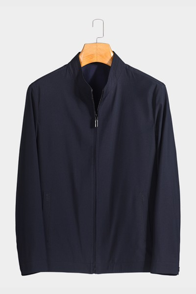 J9820 博尔顿男士新款中年立领 春装 夹克