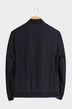 J81122 博尔顿棒球领双面穿男士新款中年休闲立领春装夹克