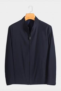 J9820 伟德国际1946男士betvictor12伟德官网中年立领 春装 夹克