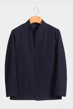 BY5801 伟德国际1946betvictor12伟德官网男士时尚休闲中长款春装夹克