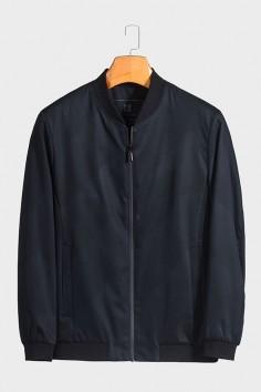 JW9866  博尔顿棒球领男士新款中年休闲立领春装夹克