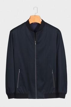 JW2066 博尔顿棒球领男士新款中年休闲立领春装夹克