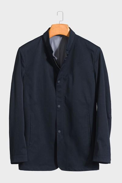 JS871 博尔顿新款男士时尚休闲中长款春装夹克