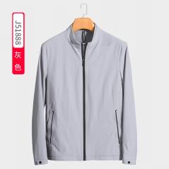 J51888  博尔顿时尚休闲男士新款中年立领春装夹克