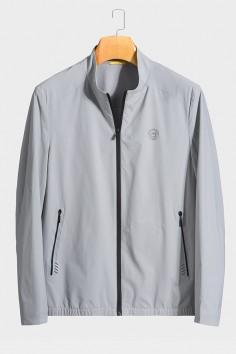 J81126  博尔顿时尚休闲男士新款中年立领春装夹克
