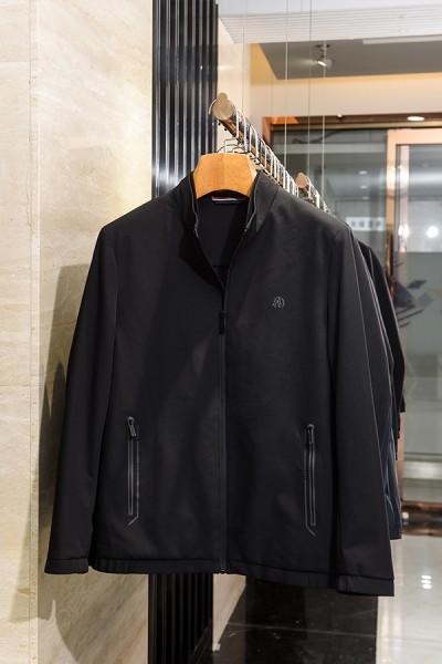 J20159新款秋装弹力面料立领夹克
