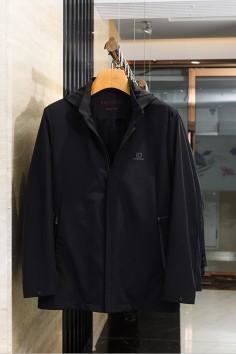J57116秋装帽子可拆卸夹克