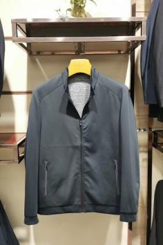 JC9963秋冬新款弹力棉立领夹克