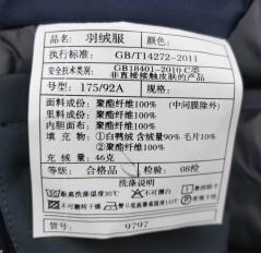 A9797秋冬新款活里活面翻领夹克羽绒服
