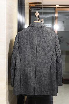 Y8810秋冬新款双面呢大衣