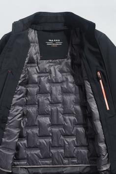 A20218秋冬新款立领可脱卸夹克羽绒服