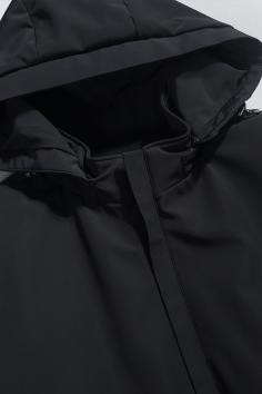 A8700秋冬新款帽子可拆卸活里活面夹克羽绒服