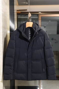 A2858秋冬新款连帽短款夹克羽绒服