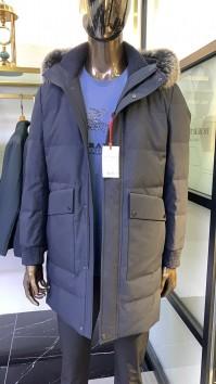6N1675-2秋冬新款帽子活里活面羽绒服