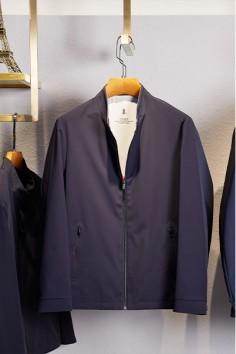 J83027春秋新款立领时尚夹克