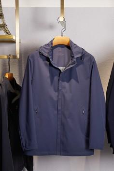 J83035春秋新款帽子可拆卸夹克