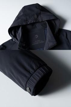 TDH2263春秋新款时尚帽子可拆卸夹克