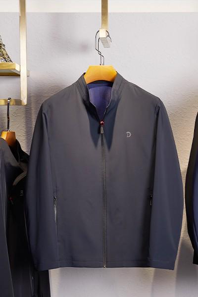 TDH2262春秋新款时尚立领夹克