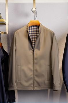 JZ223春秋新款立领夹克