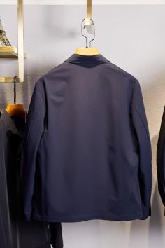 J675春秋新款翻领夹克