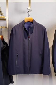 J673春秋新款立领时尚夹克