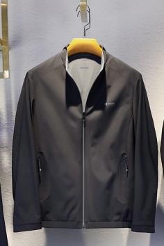 J21852春秋新款双面立领夹克