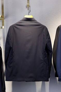 BJ2188春秋新款时尚扣板风衣